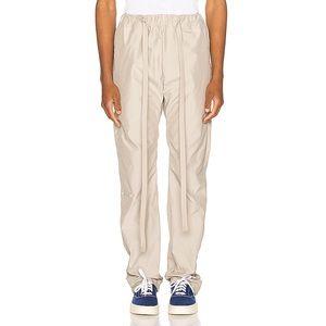 Fear of God Baggy Nylon Pants Mens Bone White L